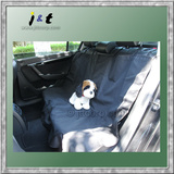 custom water proof pet car seat cover , foldable hammock type car rear seat cover for pets dogs