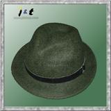 wholesale men's black winter fedora 18001
