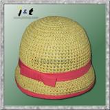 wholesale kids' hand crochet summer bonnet 18001